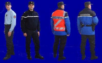 uniformes gendarmerie